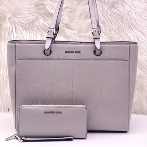Michael Kors Large Commuter Tote  and Wallet Set
